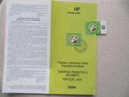 9205 FIFA Football + Notice En Français Anglais Allemand Croate Faible  Tirage 300 000 Exemplaire - Coupe Du Monde