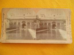Photo Stereoscopique -  Espagne - Alhambra Palace - Stereoscopic