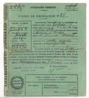 Permis De Circulation 76 Seine Maritime Varengeville Sur Mer - Documenti Storici
