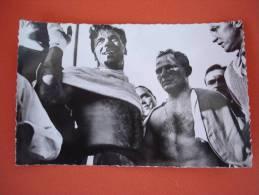 PHOTO CERDAN N° 500 - BOXE -  Collection RAOUL DIAGNE - Nice - Boksen