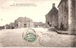 53 SAINT AIGNAN SUR ROE  Carrefour Des Routes De Saint Michel Et De Craon - Autres Communes