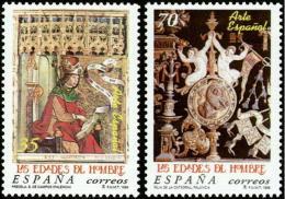 ESPAÑA 1999 - ARTE ESPAÑOL. LAS EDADES DEL HOMBRE - Edifil Nº 3630-3631 - Yvert 3198-3199 - 1931-Hoy: 2ª República - ... Juan Carlos I