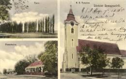 Hungary-----Somogyszil----old Postcard - Ungheria