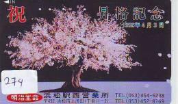BONSAI Sur Telecarte (274) - Advertising