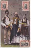 BULGARIA COSTUMES 1914 POSTCARD ESPERANTO TO URUGUAY SIMO SIMOFF CONSUL Cpa AK (W3-0148) - Esperanto