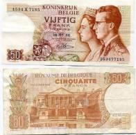 Belgique Billet De 50 Francs Pick 139 Neuf 1er Choix Ayant Circulé - [ 2] 1831-... : Royaume De Belgique