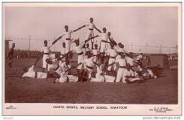 SOUDAN - CPSM - KHARTOUM - 235 - CADETS SPORTS , MILITARY SCHOOL - Ecole Militaire - éditeur G.N. MORHIG - Soudan