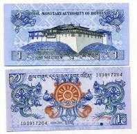 Bhoutan - Bhutan Billet De 1 Ngultrum Pick 27 Neuf 1er Choix UNC - Bhoutan
