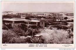 SOUDAN - CPSM - KHARTOUM - 206 - GENERAL VIEW - VUE GENERALE , REGARGEZ LE CLUB SOUDANAIS - éditeur G.N. MORHIG - Soudan