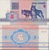 Biélorussie - Belarus Billet De 5 Rublei Pick 4 Neuf 1er Choix UNC - Wit-Rusland