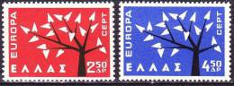 GREECE 1962 Europe CEPT Set MNH Vl. 861 / 862 - Greece