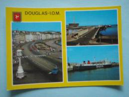 22642 PC: ISLE OF MAN: Douglas Promenade - Douglas Sea Terminal - Sealink Ferry. - Isle Of Man