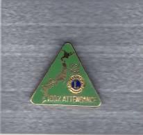 Pin´s  Lions´ Club  100 %  ATTENDANCE  1981 - 1982 - Associations