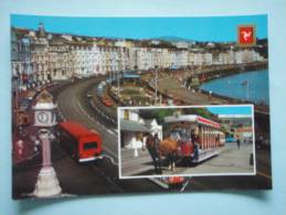 22645 PC: ISLE OF MAN: Douglas Promenade   /   Douglas Royal Tram. - Isle Of Man