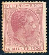 PUERTO RICO - 1882 - Mi 53 - KING ALFONO XII - Puerto Rico