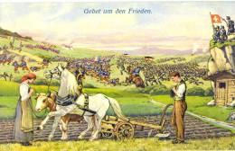 Armée Suisse - Gebet Um Den Frieden - Militaria - Soldats - - Autres