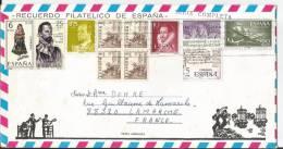 Belle Lettre Avec Bel Affranchissement Vers La France  - Année 1978 - N°1 - 1931-Aujourd'hui: II. République - ....Juan Carlos I