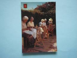 22661 PC: ISLE OF MAN: Spinners At Cregneash. - Ile De Man