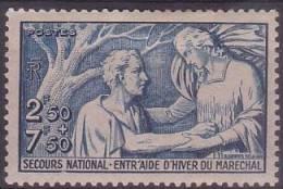 µ12 -  SECOURS NATIONAL  N° 498 - NEUF Avec Charnière - Petit Prix - France