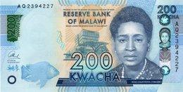Malawi Set 6 Pcs 20 50 100 200 500 1000 Kwacha 2012 P New Design UNC - Malawi