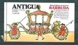 Barbuda: 404/ 406 En Carnet De Luxe  ** - Antigua Et Barbuda (1981-...)