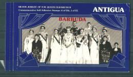 Barbuda: 312A/ B En Carnet De Luxe ** - Antigua Et Barbuda (1981-...)