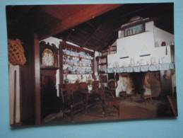 22673 PC: ISLE OF MAN:  Harry Kelly's Cottage. The Home Of A Crofter-fisherman. Cregneash Folk Museum. - Isle Of Man