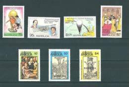 Barbuda: 419/ 422 + 427/ 429 ** - Antigua Et Barbuda (1981-...)