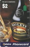 AUSTRALIA $2 BAILEYS IRISH WHISKEY ALKOHOL MINT NOT FOR SALE !!!!!!! AUS-313 READ DESCRIPTION !! - Australia