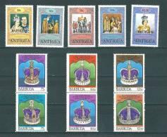 Barbuda:  385/ 395 ** - Antigua Et Barbuda (1981-...)