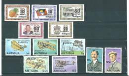 Barbuda:   365/ 369 + 374/ 380 ** - Antigua Et Barbuda (1981-...)