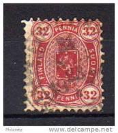 Finlande N° 20 Oblitéré - 1 Dent Courte Sur Le Côté - Cote 45€ - 1856-1917 Russian Government