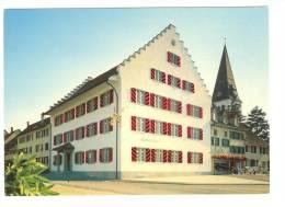 C1112 Elgg - Dorfplatz - Gasthaus Krone / Non Viaggiata - ZH Zurich