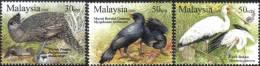 2009 Unique Bird Fish Mushroom Fungi Plant Malaysia Stamp MNH - Malaysia (1964-...)