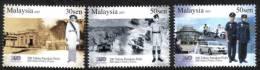 2007 200th Police DiRaja Car Motorcycle Malaysia Stamp MNH - Malasia (1964-...)