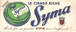 Buvard  Le Cirage Riche  Syma PPZ Oiseau Pie - Buvards, Protège-cahiers Illustrés