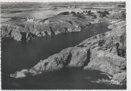 BELLE ILE EN MER GOULPHAR - Le Port Et La Plage - Vue Aérienne - 30953 - Belle Ile En Mer
