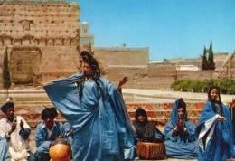 Maroc , Mauritanie, Cpsm . Danse De La Guédra. - Mauritanie