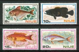 1973 Niue Vita Marina Marine Life Pesci Fish Fische Poissons Set MNH** Po48 - Niue