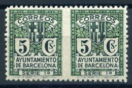BARCELONA    Nº  9sph  ( Charnela- Hinged )-43A - Barcelona