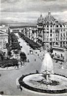 """Bellissima Cartolina  Anni 50   """"  Foggia - Piazza Cavour E Viale XXIV Maggio   """" - Foggia"""