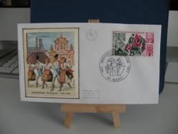 *FDC - Immigration Polonaise 1921 - 1923 - 62 Auchel - 3.2.1973 France - Coté 1,80 € - FDC