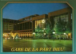 CPSM De LYON (69000) :  Gare De La Part Dieu. - Sonstige