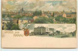 GRUSS AUS HANAU - Gare (carte Vendue En L'état). - Hanau