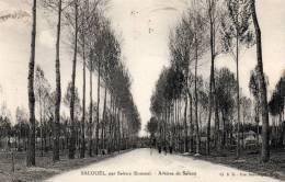 Salouel Par Saleux ,(Somme) Avenue De Saleux - Autres Communes
