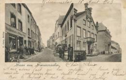 Gruss Aus Grevenmacher  2 Vues N. Gary Bullay Timbrée Grevenmacher 1903 Timbre Enlevé - Familia Real