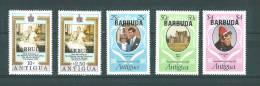 Barbuda: 497/ 498 + 567/ 569 ** - Antigua Et Barbuda (1981-...)