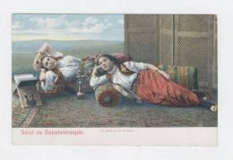 SALUT DE CONSTANTINOPLE   (TURQUIE)  LA PERLE ET LE BRILLANT  /  986 - Türkei