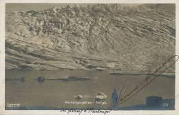 Hardanger No 372 Eneberettiget Mittet  Vignette Norwegens 1914 Kristiana Expo Centenaire - Norvège