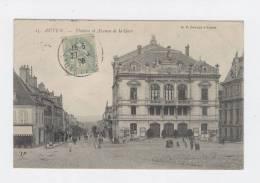 AUTUN  71  THEATRE ET AVENUE DE LA GARE    / 996 - Autun